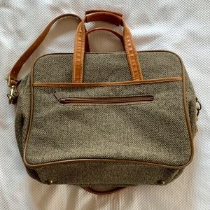 Vintage Hartmann Luggage Herringbone